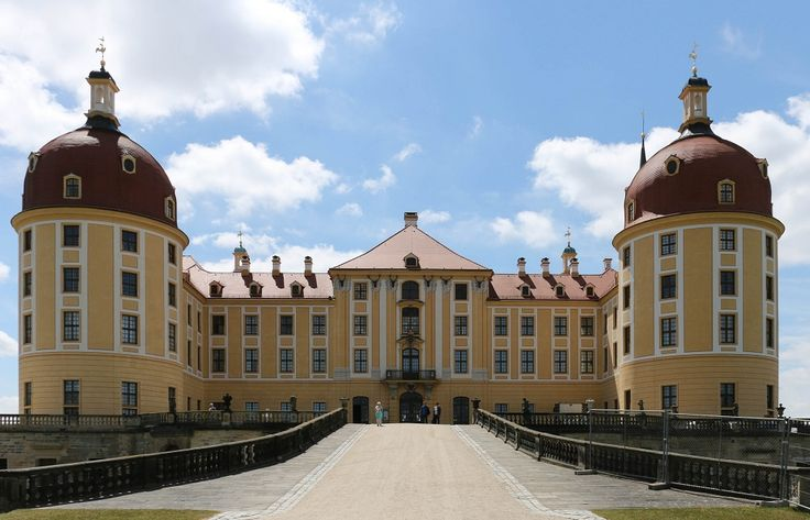 #Замок #Морицбург - три орешка для Золушки
