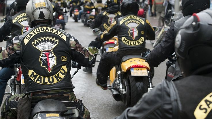 """The biker club """"Satudarah"""". This stereotyped group can also be explained as; """"Joining a band of brothers together, a group with one common interest or mission, whether as a company, a team, or a motorcycle club, requires not only a commitment to loyalty but an understanding of self-preservation as well."""" - A quote from, Sonny Barger."""