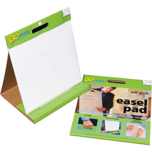 """Self-Stick Table Top Easel Pads, GoWrite!®, 16"""" x 15"""", 25 Sheets, PACTSP1615"""
