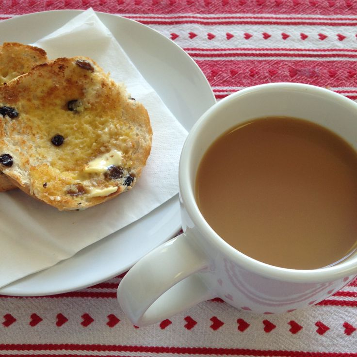 The Cupper Crust, Swansea. A cuppa and a toasted tea cake. Job done.
