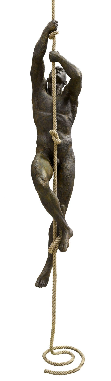 LORENZO QUINN - La vida es como una cuerda que necesitamos subir. Los nudos son nuestros momentos más importantes,  tanto los buenos  como los malos. Estos nudos se han de establecer como recuerdos inolvidables del tiempo pasado y nos ayudaran a seguir subiendo.