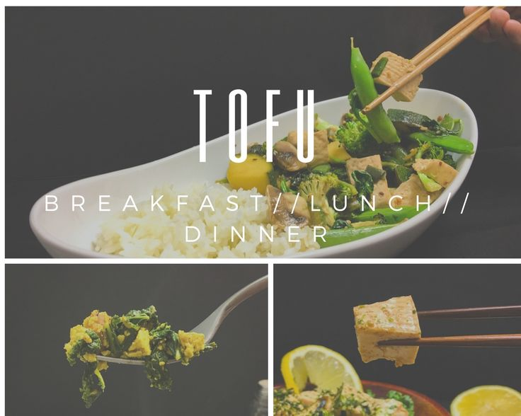 cooking with tofu//3 recipes!