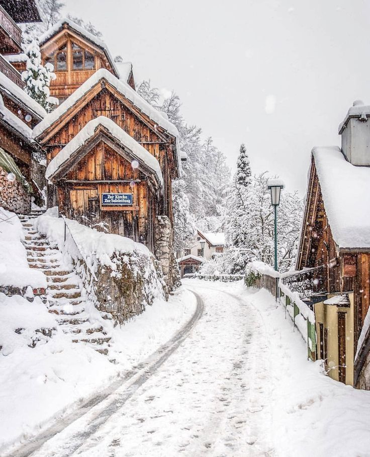 Christmas winter wonderland in the snow – Val