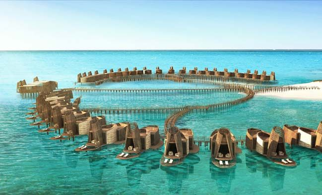 Isla Pasión is a concept project designed by Sordo Madaleno Architect to create a luxury hotel in Mexico that has an unique architecture is based on Mayan elements...