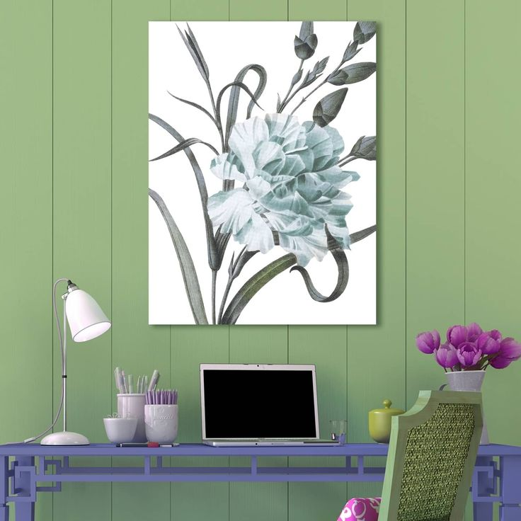 Portfolio Canvas Decor Redoute Dianthus Caryophyllus Canvas Wall Art