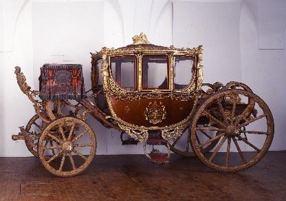 Museen in München: Marstallmuseum Krönungswagen