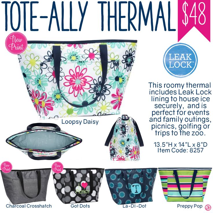 Thirty-One Tote-ally Thermal - Spring/Summer 2017