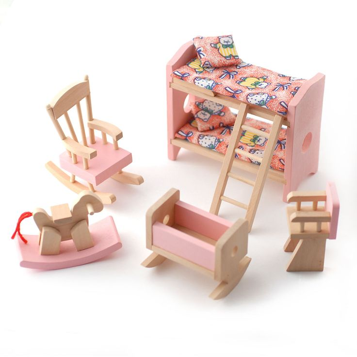 224 best muebles para muecas images on Pinterest Doll houses