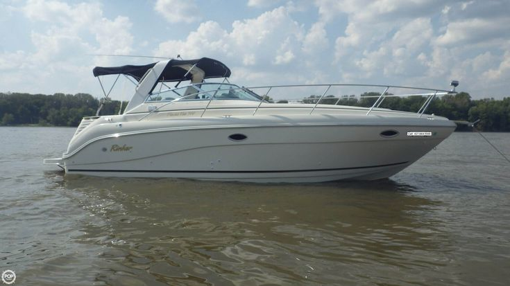 2001 rinker 310 fiesta vee this boat has 245 hours on it 150 hours on the kohler marine gen it has new carpet in the cockpit