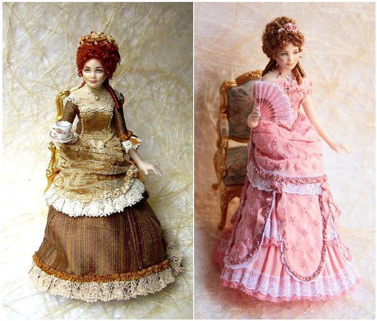 Elisa Fenoglio doll | Миниатюрные куклы Elisa Fenoglio / Miniature dolls