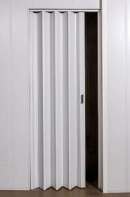 Puerta Plegadiza Reforzada Pvc 10mm Completa 0,75x2m - $ 824,49