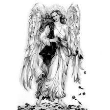 Znalezione obrazy dla zapytania tatuaż anioł