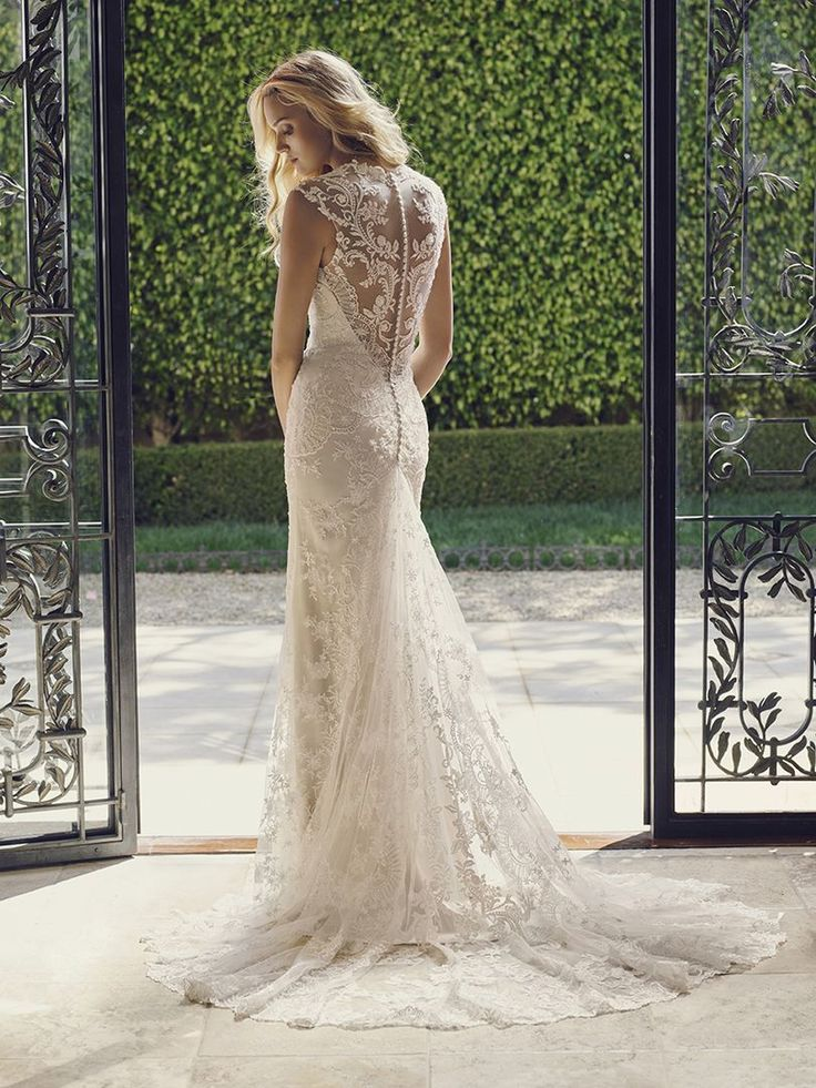 Tulip  - Casblanca Bridal Spring 2016 Garden Dreams Collection http://www.casablancabridal.com