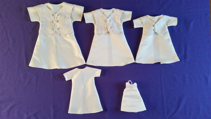 June 2017, a selection of items that make up our baby Bereavement Packs, made by our wonderful volunteers to ensure every UK Angel Baby has the chance to be dressed in a gorgeous Angel gown, with accompanying blanket, nappy, hat and bootees. All gowns made from a UK donated wedding dress.