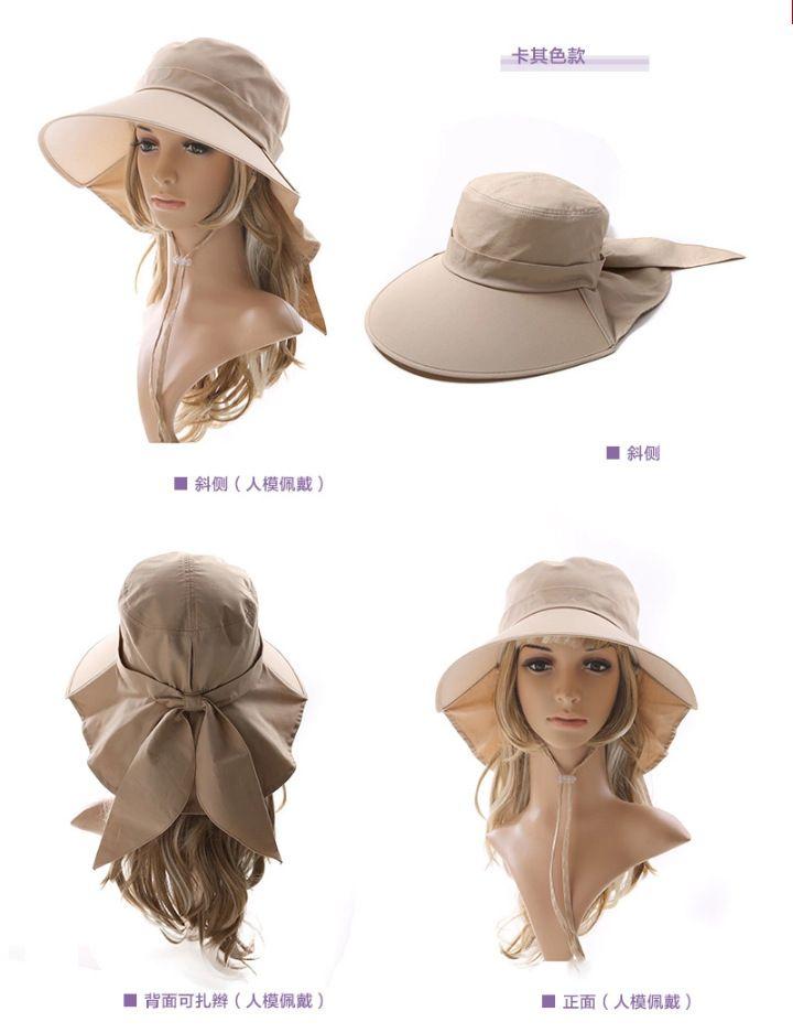 2015 новый вс летние шляпы пластиковый козырек шапки для женщин с бантом большой шляпе складной вс hat регулируемые 7 цвета, принадлежащий категории Летние шляпы и относящийся к Одежда и аксессуары для женщин на сайте AliExpress.com | Alibaba Group