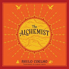 """Another must-listen from my #AudibleApp: """"The Alchemist: A Fable About Following Your Dream"""" by Paulo Coelho, narrated by Jeremy Irons."""