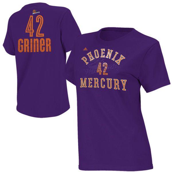 adidas Phoenix Mercury Brittney Griner T-Shirt - $27.99