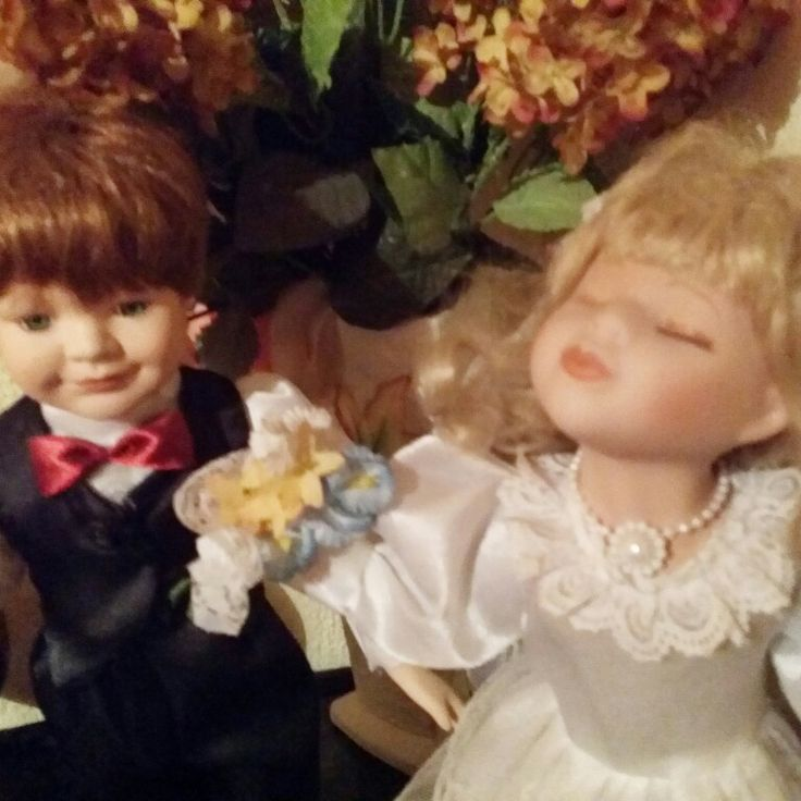 Porcelain dolls