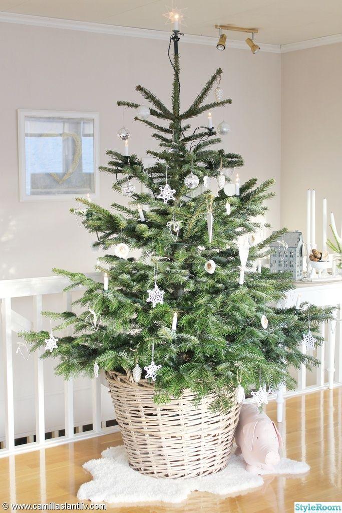 Inspiration för julgran (63 bilder)