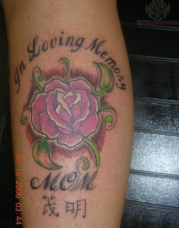 In Memory of Mom Tattoos   In Loving Memory Of Mom