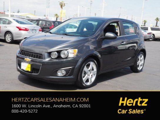 Hatchback 2016 Chevrolet Sonic Ltz Hatchback With 4 Door In Anaheim Ca 92801 Chevrolet Sonic Hatchback Chevrolet