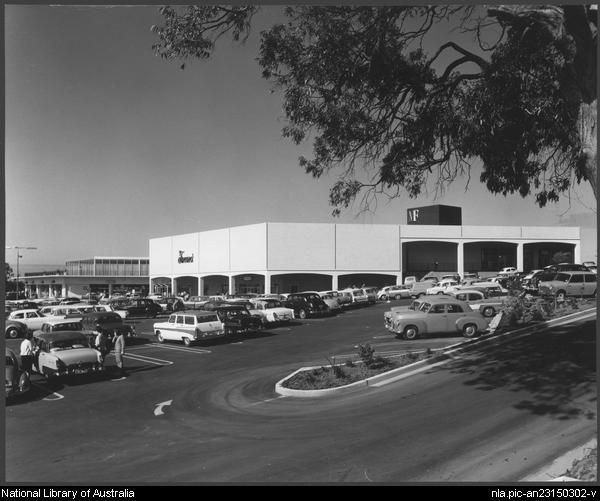 Sievers, Wolfgang, 1913-2007. Miranda shopping centre, Sydney, architects: Tomkins, Shaw & Evans (10) [picture]