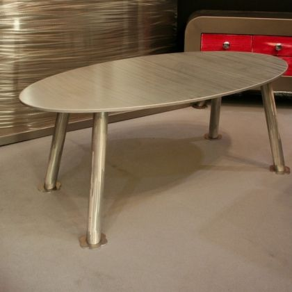 Table basse aluminium Table basse Design  www.loftboutik.com