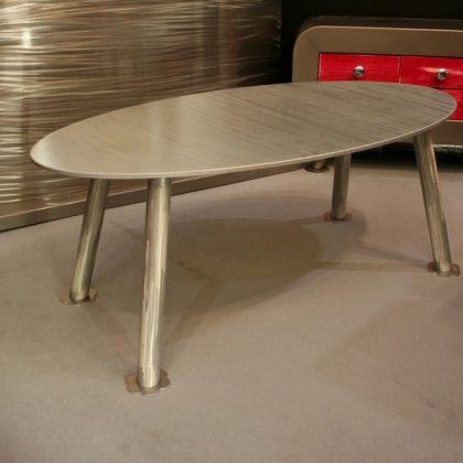 Table basse aluminium Table basse Design  www.loftboutik.com