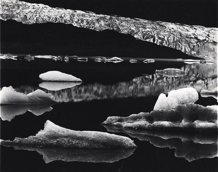 Brett Weston - Mendenhall Glacier, Alaska, 1973