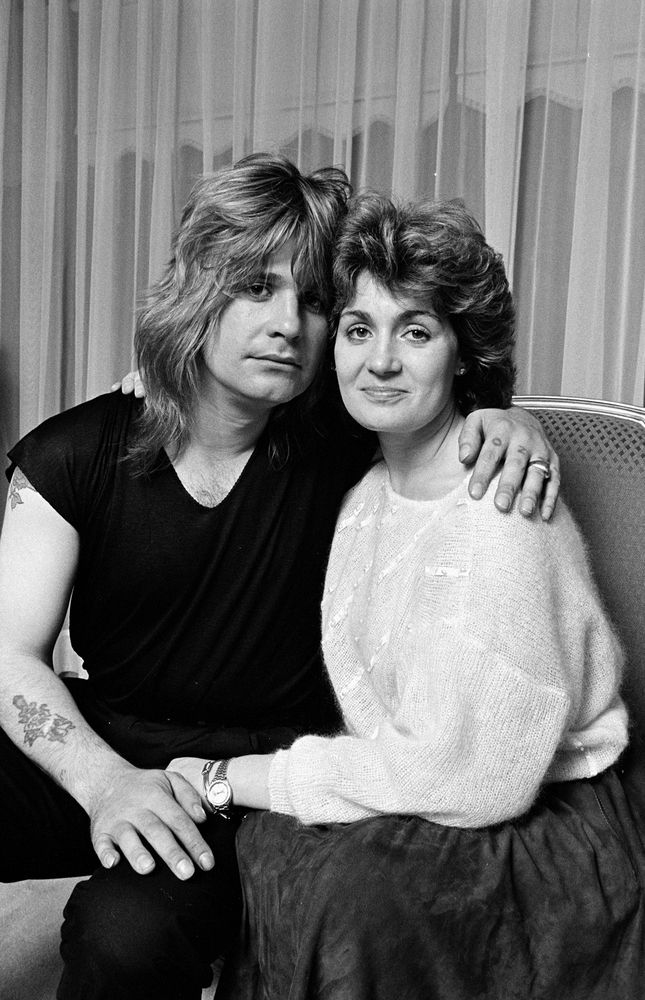 Ozzy and Sharon Osbourne #Iamthegreatest #IATG50 #Greatestcouples