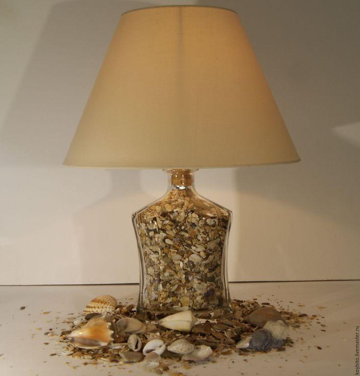 """Купить Светильник """"Феодосия"""" - лампа, светильник, подарок, интерьер, световое оформление, дизайн интерьера, поделки"""