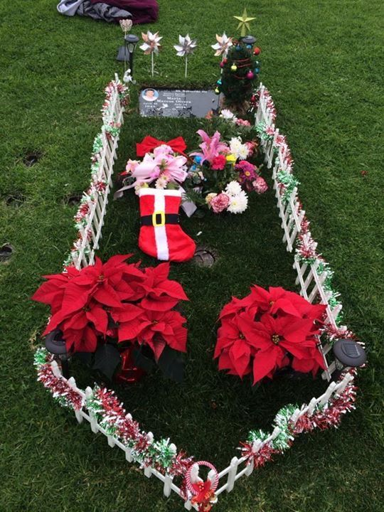 Cemetery Christmas Decorations Part - 30: Christmas Decorations 2014 · Cemetery FlowersChristmas Decorations