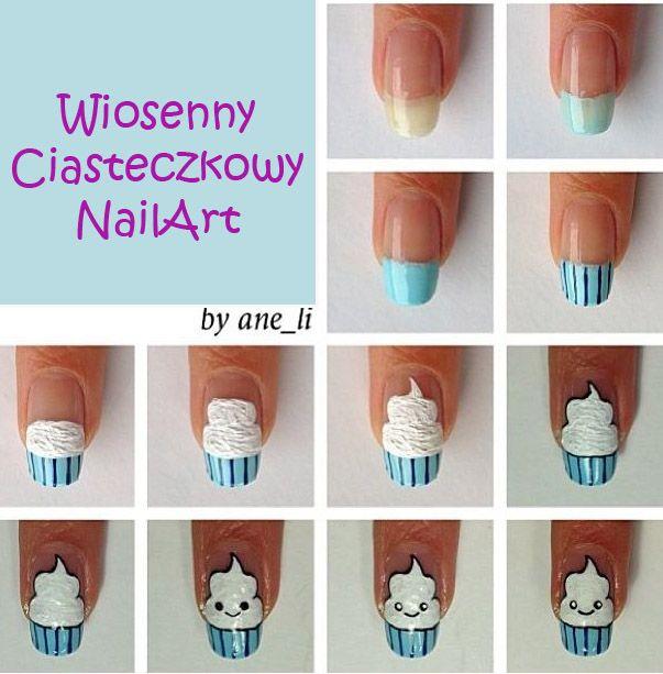 Paznokcie i Rzęsy Łódź Studio Stylizacji: Wiosenne paznokcie - wzorki krok po kroku.