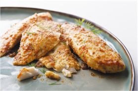 If you're trying to get more omega-3s into your diet, tilapia is a fantastic choice for a quick and easy meal with a bit of lemon and garlic. This low-mercury fish is available year round.