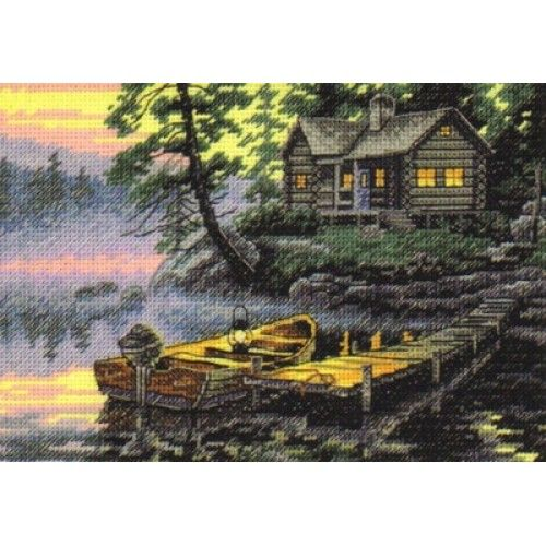 <b>Набор для вышивания крестом</b> Dimensions 65091 Morning Lake ...