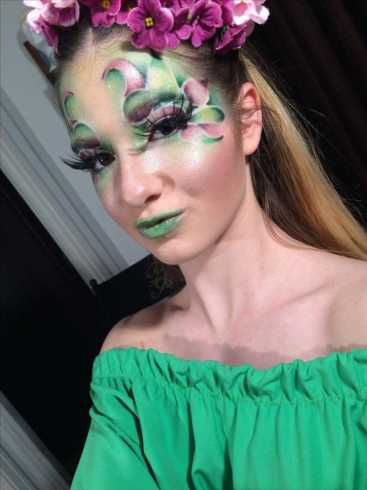 Tavasz #spring #makeup #makeupartist #fantasymakeup