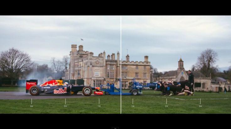 Red Bull Racing - F1 Scrum With Daniel Ricciardo And Bath Rugby Club (VIDEO)