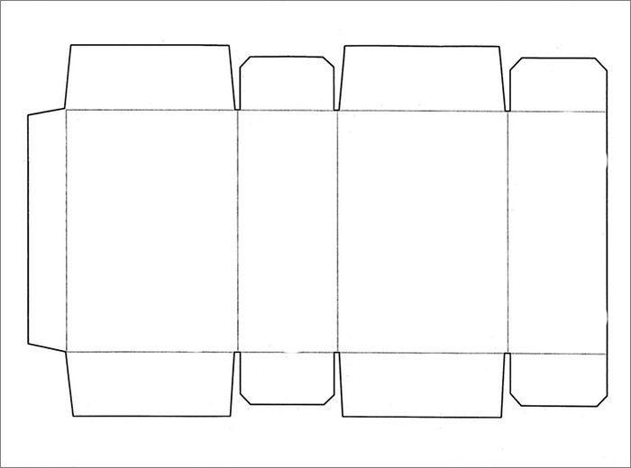 Printable Box Templates Box Template Printable Box Templates