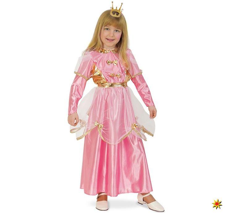 Kinder Kostüm Prinzessin Annabell, Kleid rosa | Kleider ...