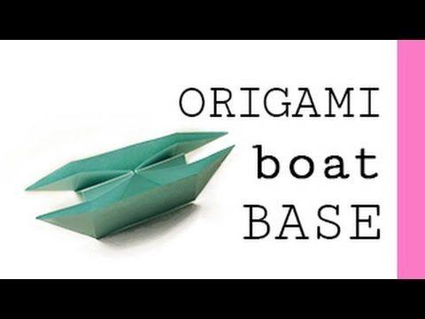 Origami Boat Base