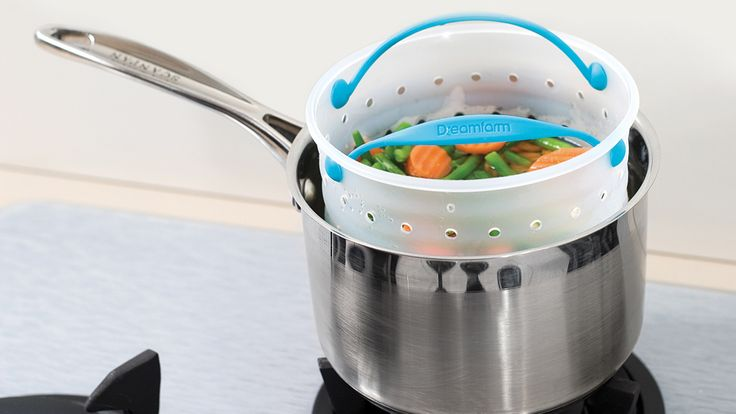 #TKeveryday prize @dreamfarm Vebo is a vegetable cooker that washes, boils, steams and strains in one basket.