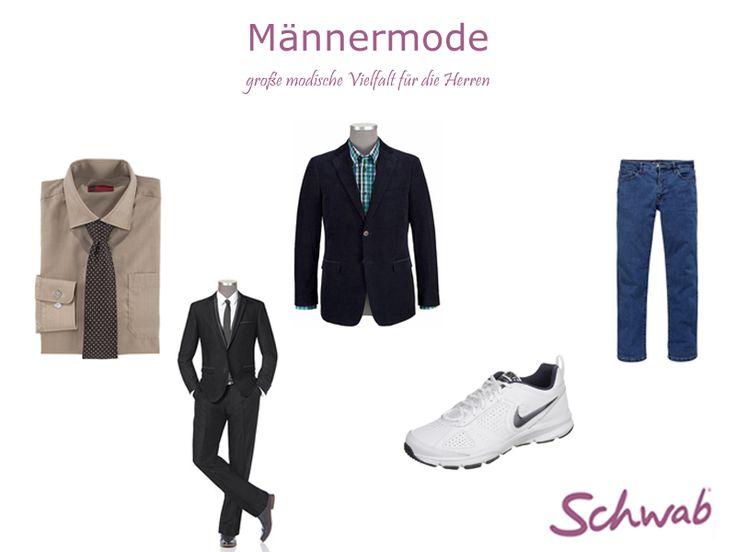 Im Schwab Online Shop findet Ihr die aktuelle #Männermode der angesagten Marken