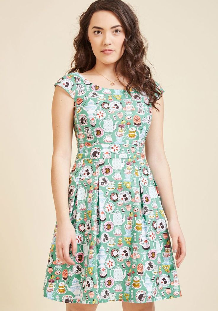 What a Strange Twirl We Live In A-Line Dress | ModCloth