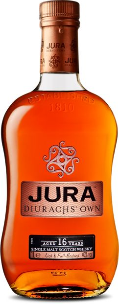 Jura Diurachs' Own 16yr: Great scotch; full of flavour and perfect to unwind with after a stressful day