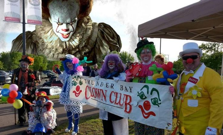 A Clown Club Protested IT Over Negative Clown Stereotypes