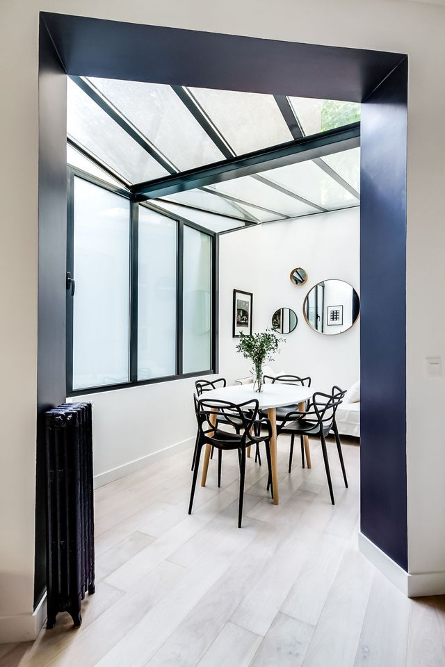 Un 80m2 de Montmartre réalisé par l'architecte d'intérieur Elodie Cottin