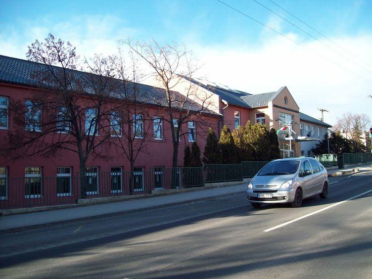 Érd, Körösi Csoma Sándor Primary School (I and my daughters went here) - Érd, Hungary