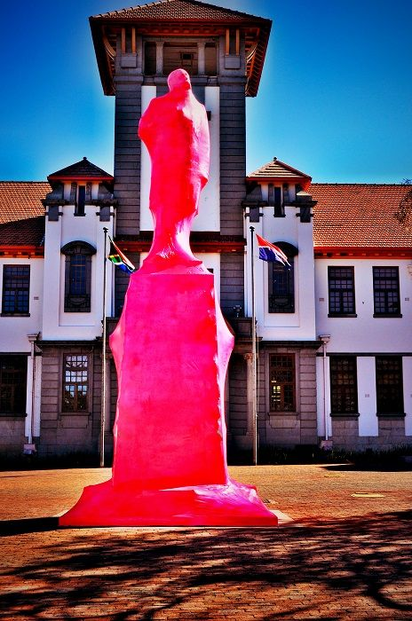 Pink presidents for #Vryfees #UFS