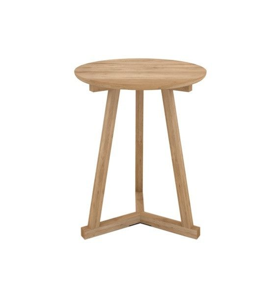 Ethnicraft Tripod Table - Solid Timber Furniture