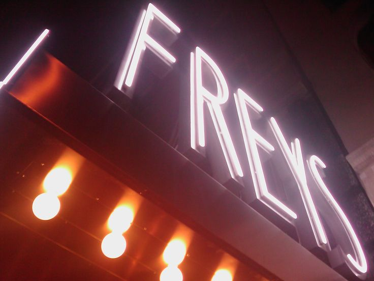 Freys Hotel Stockholm Exterior Hotel Signage LPFLEX Neon look